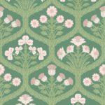 Ballet Slipper / Leaf Green / Forest Green