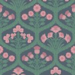 Rose / Forest Green / Carbone