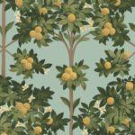 Lemon & Dark Olive verde su uovo di anatra