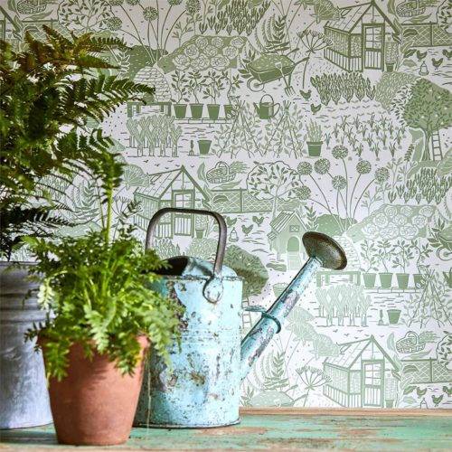 Potting Room Wallpapers