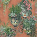 Rose & Spring Verdi su terracotta